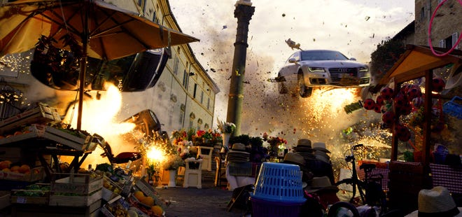Of course there are explosions. This is a Michael Bay movie, after all!