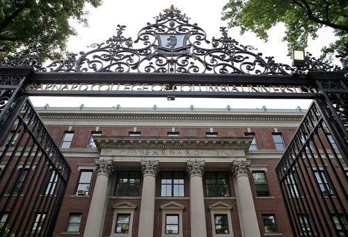 Barnard College in New York.