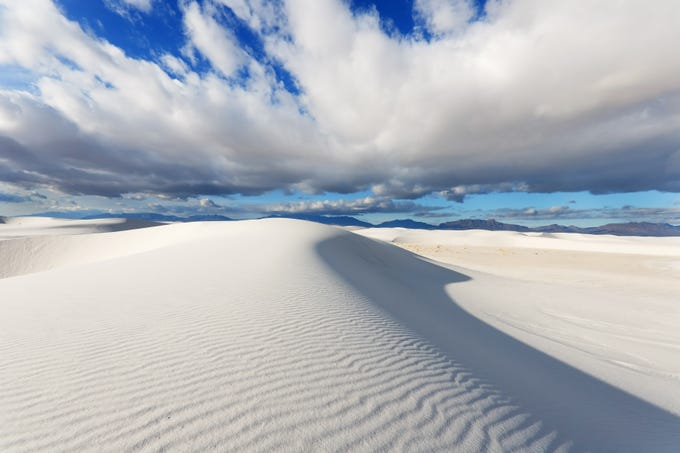 White Sands National Park is in southern New Mexico.