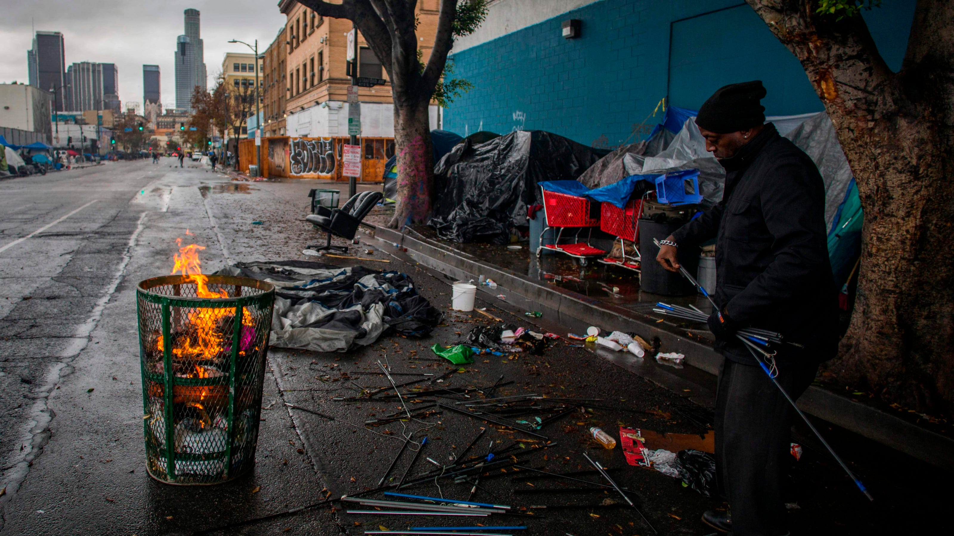 Supreme Court refuses to consider cities' efforts to prosecute the homeless for sleeping outside
