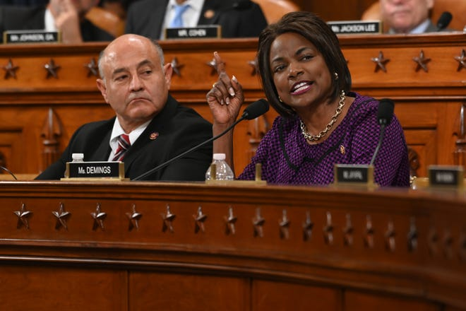 There's been speculation that Rep. Val Demings, D-Fla., may be under consideration as a running mate for former Vice President Joe Biden.