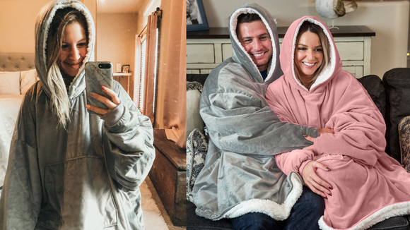 Best Shark Tank gifts: The Comfy Blanket Sweatshirt