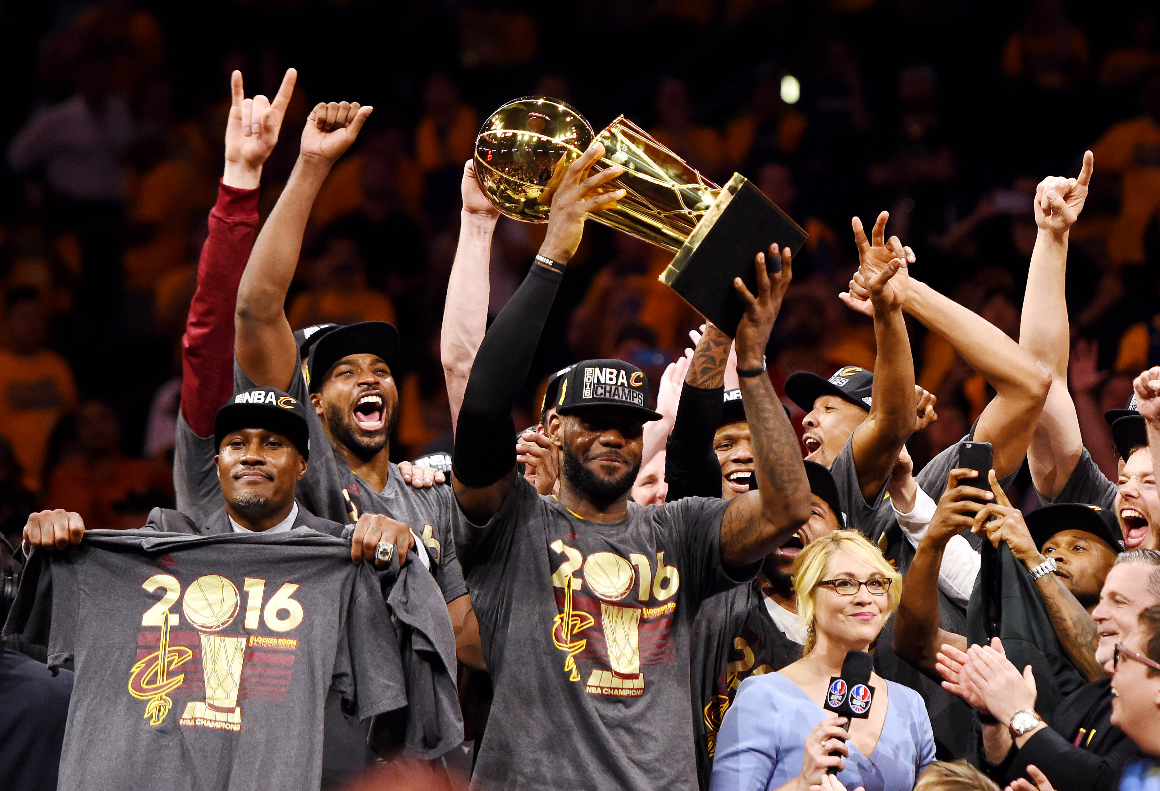 Decade of sports: LeBron's Cavs winning 2016 title was best NBA moment of the 2010s