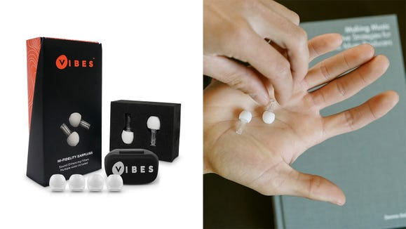 Block out the malarkey with these hi-fi earplugs.