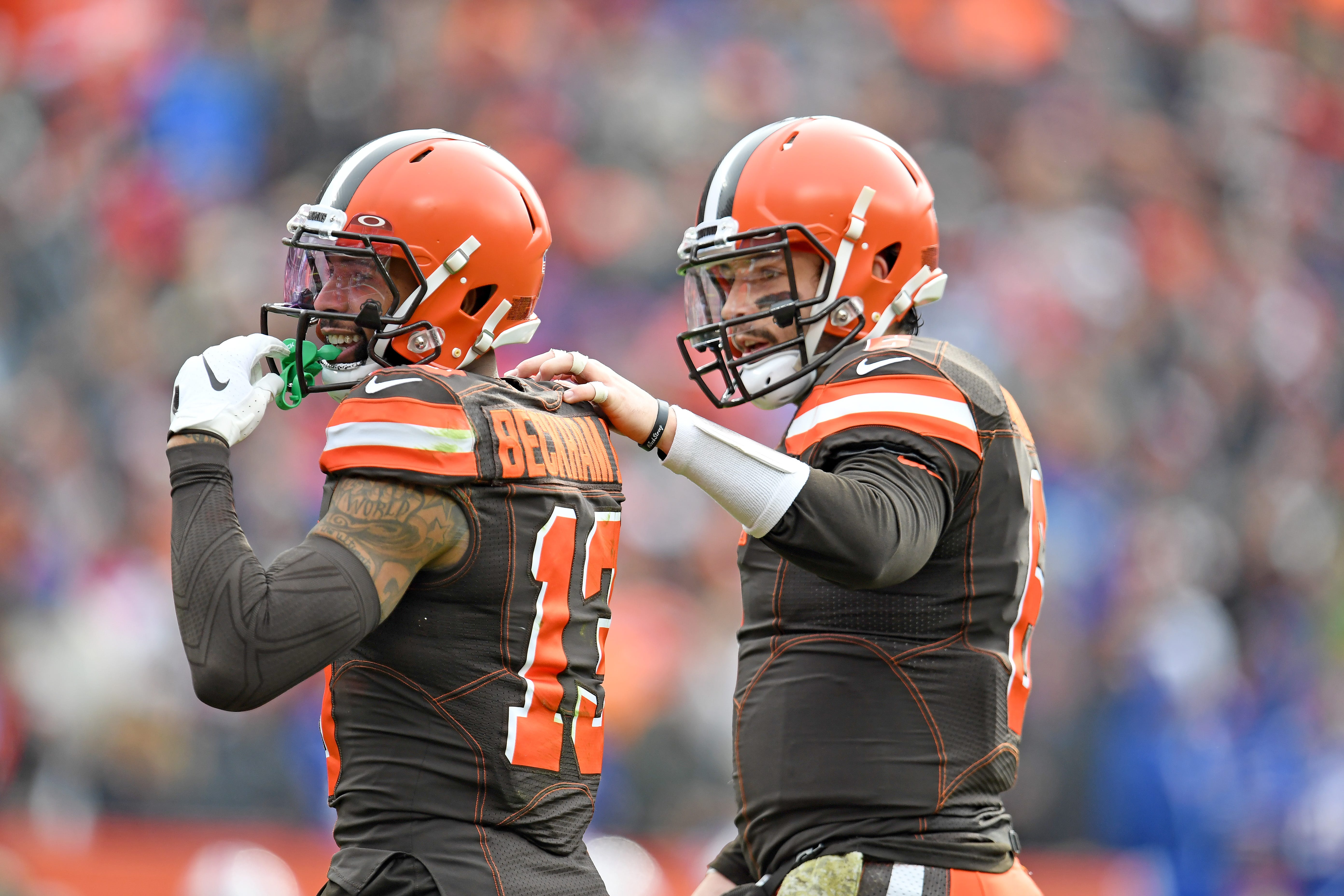 Browns QB Baker Mayfield backs Odell Beckham Jr. amid reports of WR's unrest