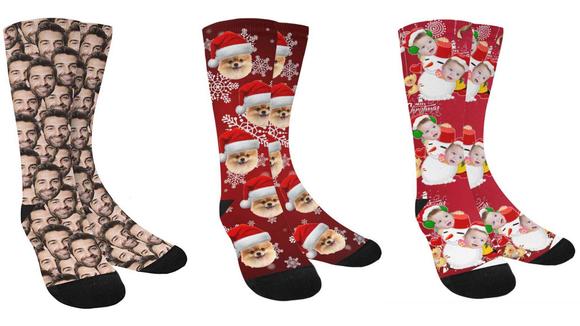 Best last-minute Amazon gifts: Custom Socks