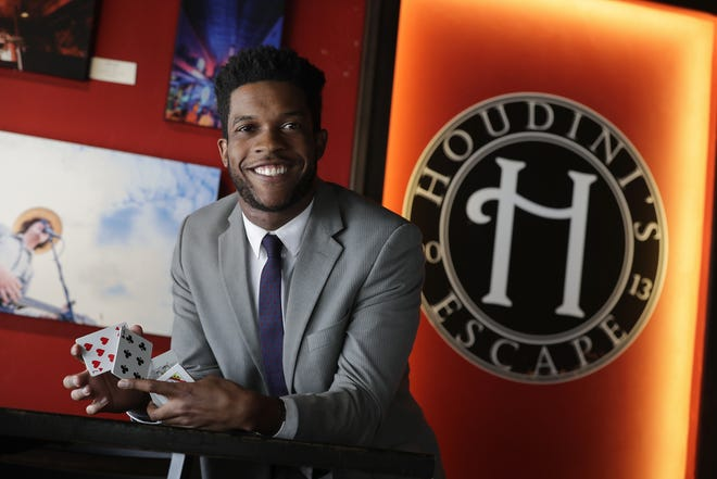 Rajon Lynch, a native of Racine and recent University of Wisconsin-Oshkosh graduate, is now the director of the Houdini Museum of New York. While in college he performed magic around northeast Wisconsin.