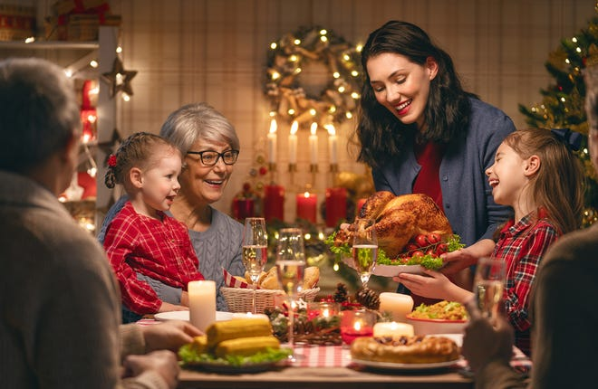 """The arrival of holiday time doesn't have to mean weight gain, or anxiety about it,"" Karen Bayer, RN, director of Community Health at UHS."