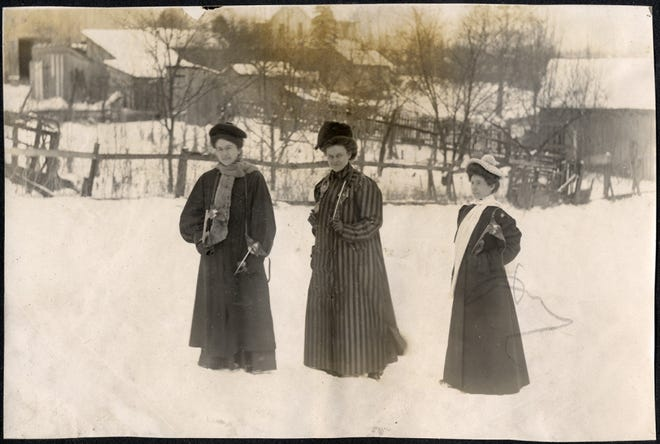 Ready for the ice, from the family of Vella Hendrix Landis.