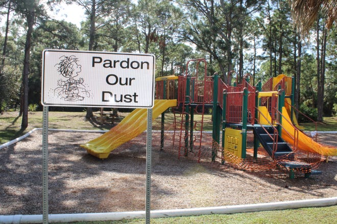 The Oakwood Park playground in Palm Bay.