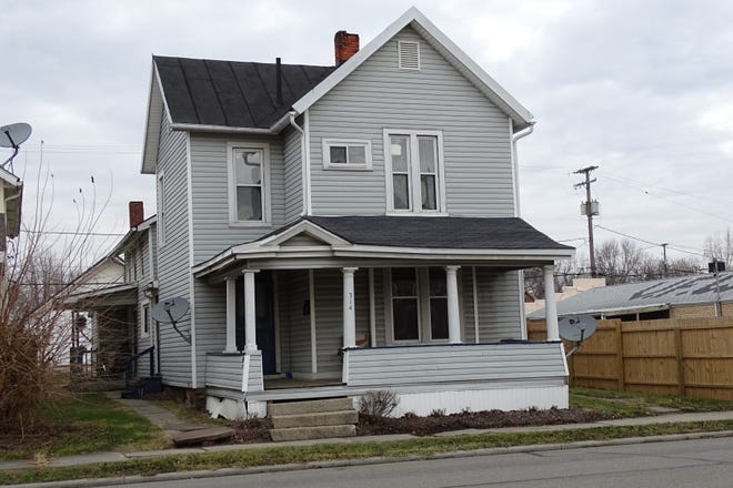 Three people were arrested after Bucyrus police searched 314 E. Mansfield St. on Thursday.
