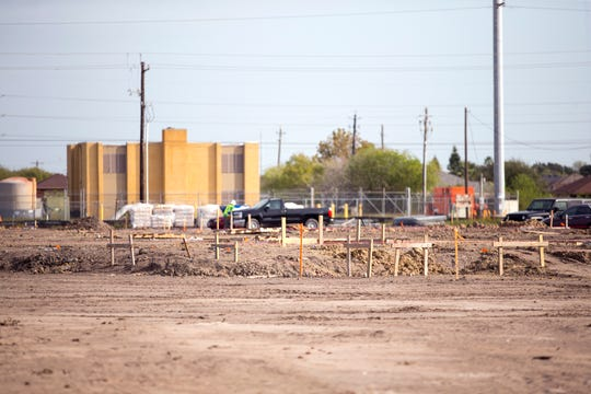 Construction is under way on Airline Road near Saratoga Boulevard on a near School of Science and Technology Elementary School. The charter school recently opened a new campus on Saratoga Boulevard close to the future campus of Carroll High School.