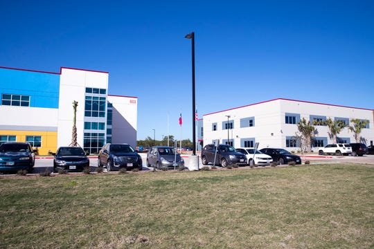The School of Science and Technology opened two new buildings off Saratoga Boulevard this year. The new schools are located near a training field for the Navy and across from Carroll High School's future high school.