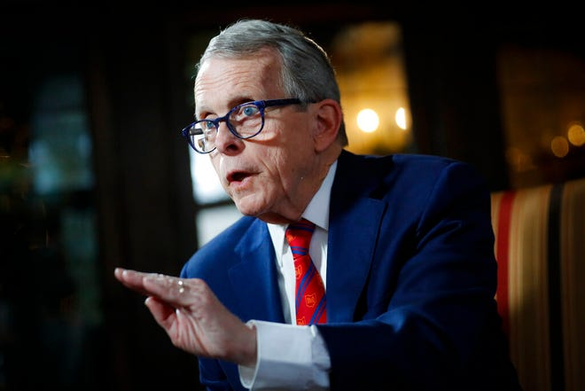 Ohio Gov. Mike DeWine said Tuesday he does not support a bill to reduce penalties for minor drug possession offenses and divert offenders to treatment but could support it if changes are made.