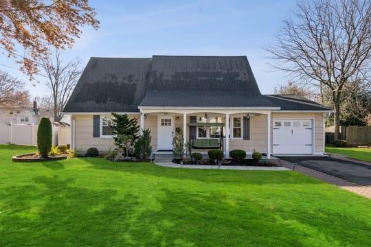 Andrew Zastko, broker-owner of Gloria Zastko, Realtors, has just listed a newly renovated Cape Cod at 804 Waksman Place.