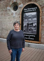 Donna Jeffrey, a lifelong resident of Eldon, a small community of about 900 people in southeast Iowa, has spearheaded a downtown revitalization effort to help restore some of the old buildings.