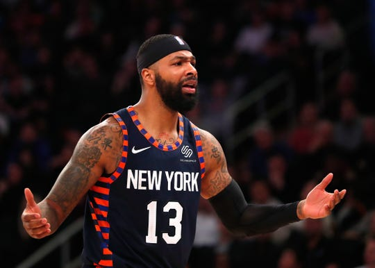 New York Knicks forward Marcus Morris could be a trade target for contending teams.