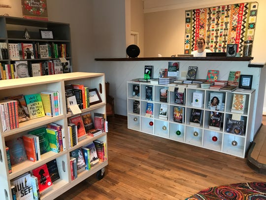The new independent bookstore 27th Letter Books is open in temporary  space on Van Dyke near Agnes in Detroit's West Village district. Photographed on Dec. 11, 2019.