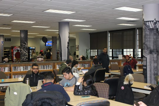 Students study in the library at the University of Detroit Mercy, an upgrade paid for by a campaign that raised more than $100 million