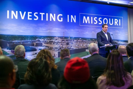 General Motors President Mark Reuss announces Friday, December 13, 2019, the company will invest $1.5 billion to bring its next generation of midsize pickup trucks to market. GM's Wentzville truck plant will receive $1 billion of this investment to upgrade the facility and retain about 4,000 jobs at the plant in Wentzville, Missouri.