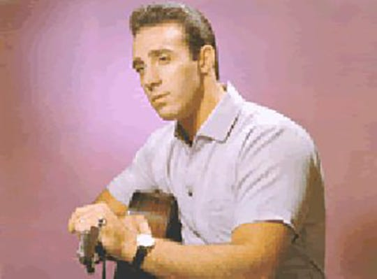 Jack Scott, singer and songwriter, was popular in the 1950s.