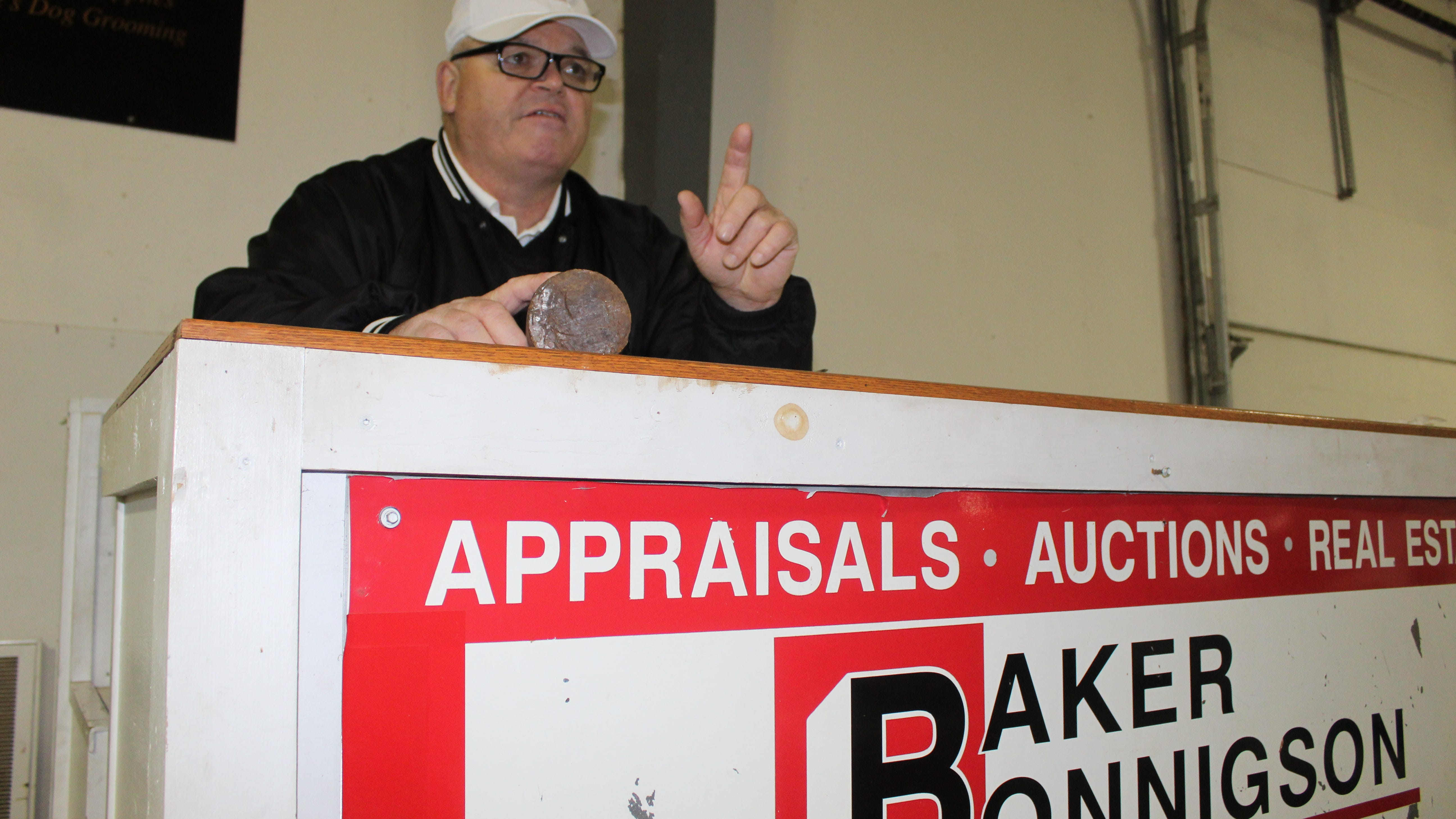 Local auctioneer Baker retiring after 42 years