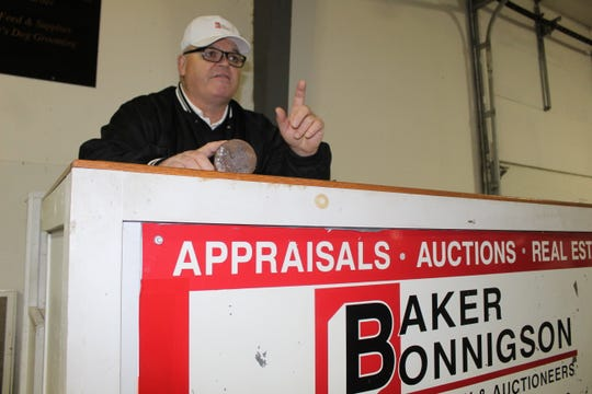 Longtime auctioneer Bill Baker is retiring after 42 years. His last auction with Baker Bonnigson Realty & Auctioneers will be Saturday and Sunday at the Sandusky County Fairgrounds.