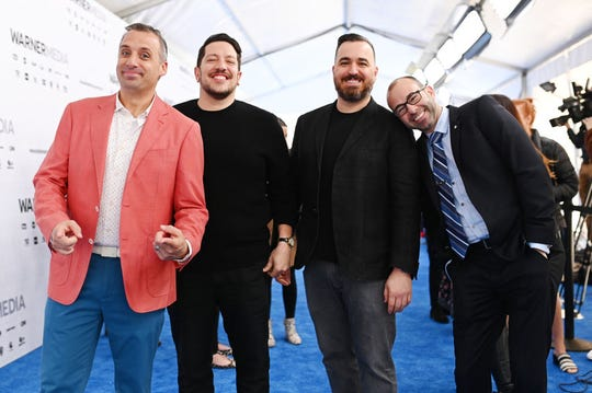 "Joe Gatto, from left, Sal Vulcano, Brian Quinn and James Murray of ""Impractical Jokers"" are headed to the Resch Center on July 15."