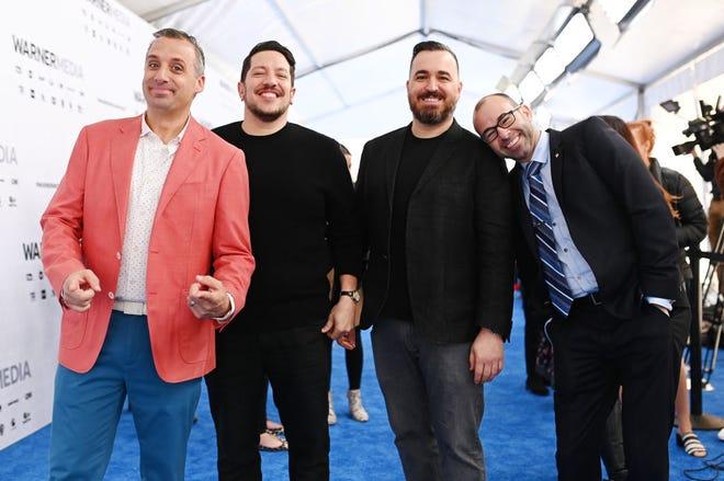 "Joe Gatto, from left, Sal Vulcano, Brian Quinn and James Murray of ""Impractical Jokers."""