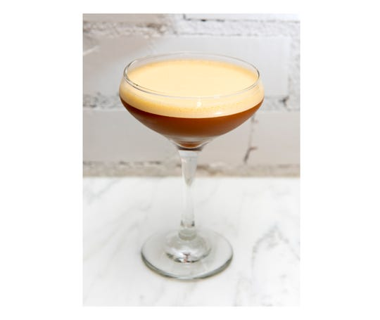 The Espresso Martini from Oak Hill Cafe and Farm in Greenville