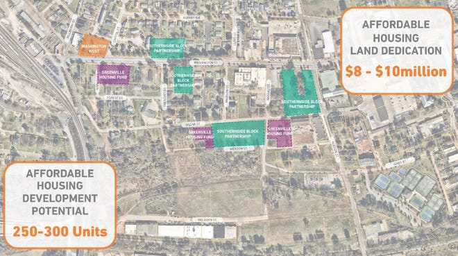The city is dedicating about 9 acres of land it owns in the area of Unity Park.