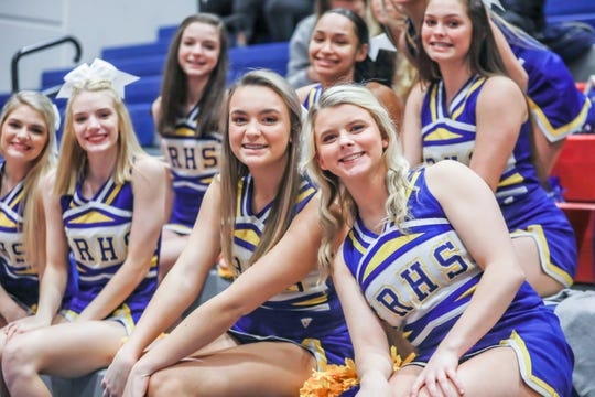 Riverside and Travelers Rest met in basketball on Dec. 12