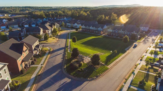 O'Neal Village, a planned residential with commercial development, north of Greer