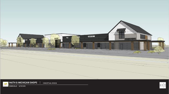 Rendering of Appaloosa Shops