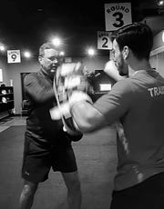 Greenwood Mayor Mark Myers was recently diagnosed with Parkinson's disease. He has since started kickboxing sessions.