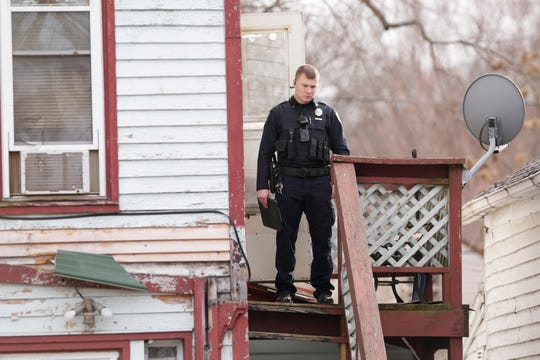 Lafayette Police investigate a homicide on the 600 block of Alabama Street, Friday, Dec. 13, 2019 in Lafayette.