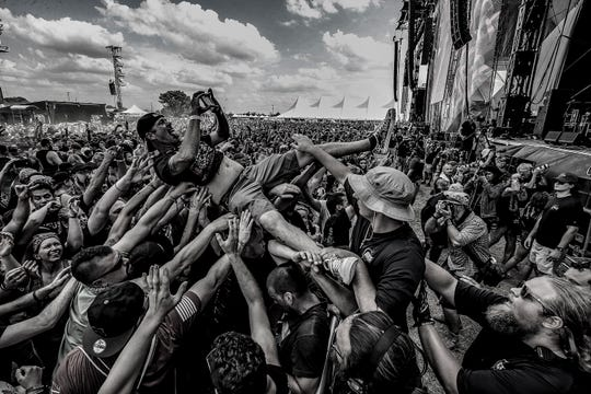 Philip H. Anselmo & The Illegals perform at Louder Than Life music festival. September 27, 2019