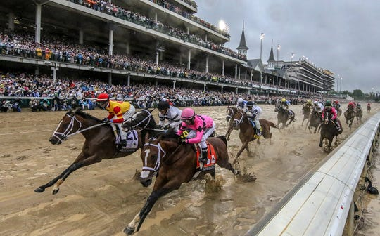 The Kentucky Derby may be postponed until later this year due to the coronavirus.