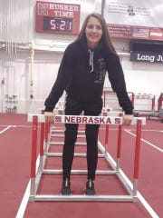 Galion senior Kerrigan Myers, the reigning Division II state champion in the 100 meter hurdles, was recruited heavily by Nebraska before signing recently with the Cornhuskers