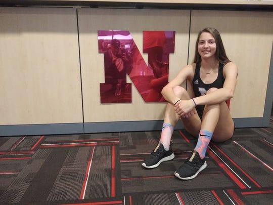 Nebraska plans to groom Galion track and field star Kerrigan Myers as a heptathlete