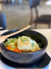 The Bibimbap rice bowl at Kohesian Soko Style Eatery.