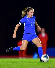 University of Memphis women's soccer senior Stasia Mallin recently garnered CoSIDA Academic All-America first-team honors for the second year in a row. The Carmel, Ind., native was a second-team selection in 2018.