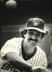 Rollie Fingers was spectacular for the Brewers in 1981, earning both the Cy Young and MVP Award in the American League.