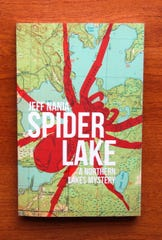"Author Jeff Nania of Portage has produced ""Spider Lake,"" his second mystery novel set in northern Wisconsin."