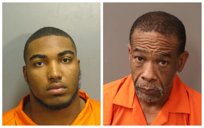 Elston Haley and Howard Cooper were each charged with trafficking cocaine and possession of marijuana.