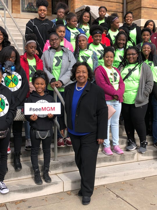 YMCA Rising Achievers, a mentoring program sponsored by Ella Bell