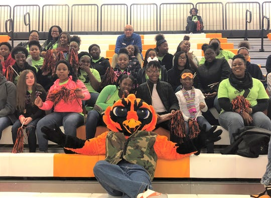 YMCA Rising Achievers at Auburn University of Montgomery Women's basketball game