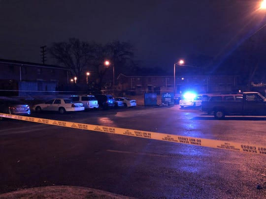 Nashville police responded to a fatal shooting on Edgehill Avenue on Thursday night.