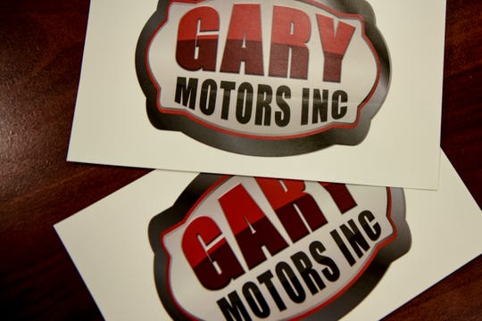 Gary Motors Inc. and other used car dealers in Lodi feel they are being targeted by Borough Planning and Zoning officials who write them tickets regularly. Gary Motors logo shown on Friday December 13, 2019.