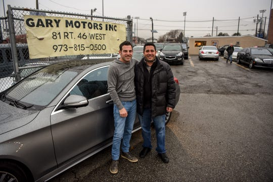 Gary Motors Inc. and other used car dealers in Lodi feel they are being targeted by Borough Planning and Zoning officials who write them tickets regularly. Andrew Glaser of Gary Motors Inc. and Sal Enea the President of the NJIADA and owner of Route 46 Auto shown in Lodi on Friday December 13, 2019.